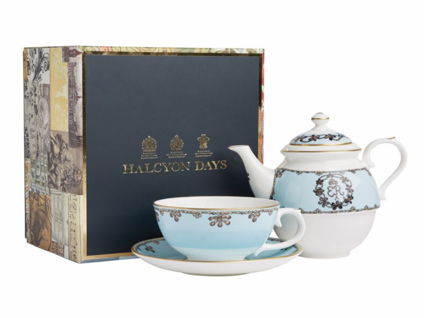 Click to buy Halcyon Days tea for one tea pot.