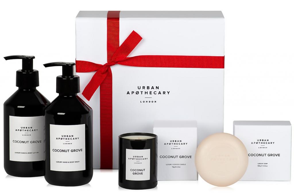 Click to buy Urban Apothecary Coconut Grove Luxury Bath & Body Gift Set.